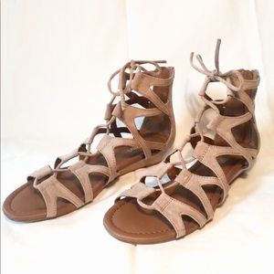 Crown Vintage Sarah Wedge Gladiator Sandal